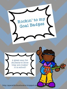 Rockin' It to My Goal Badges