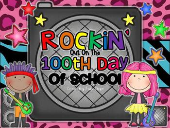 Rockin' Out on the 100th Day of School {Activities, Printa