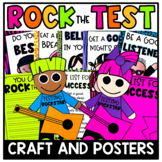Rockin' Out the Test Craftivity and Posters