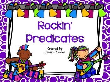 Rockin' Predicates PowerPoint and Worksheet