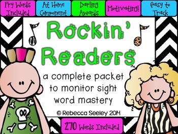 Rockin' Readers: A Complete Sight Word Program for Little