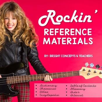 Rockin' Reference Materials {Common Core Aligned}