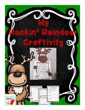 Rockin' Reindeer Craftivity