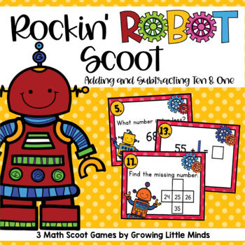 Rockin' Robot Scoot:  Plus/Minus 1 and 10