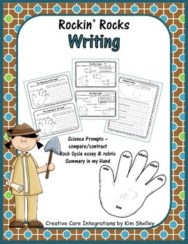 Rockin' Rocks Science Writing Prompts