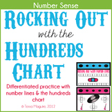 Rocking Out with Numbers- Hundreds Chart Number Sense Practice