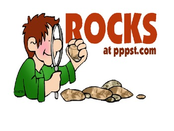 Rocks Minerals Review Game w/ bullseye Rock Cycle Earth Sc