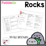 Rocks Pebble Go research brochure