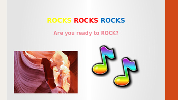 Rocks Power Point