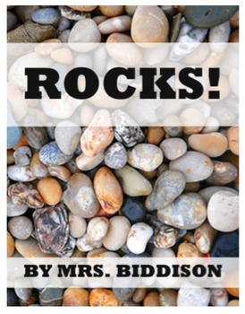 Rocks - An Emergent Science Reader - Kindergarten, First G
