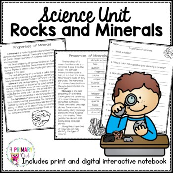 Rocks and Minerals- 3rd Grade Georgia Science Unit