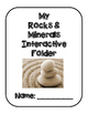 Rocks and Minerals Interactive Folder Activities