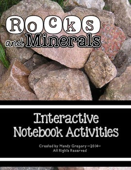 Rocks and Minerals Interactive Notebook