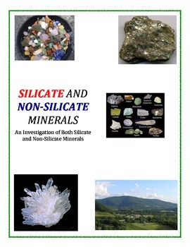 Rocks and Minerals:  Silicate and Non-Silicate Minerals (C