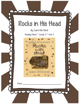 Rocks in His Head CCSS Comprehension Booklet Reading Stree