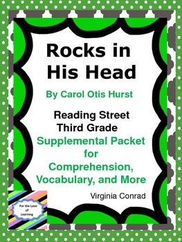 Rocks in His Head--Supplemental Packet--Reading Street Thi