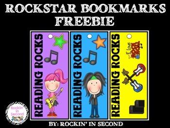 Rockstar Bookmarks FREEBIE