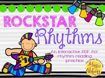 Rockstar Rhythms {A Bundled Set of Rhythm Games for the Mu