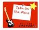 Rockstar Theme Behavior Posters - 7 colors