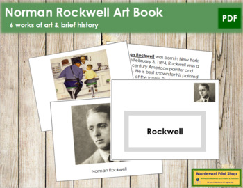 Rockwell (Norman) Art Book - Color Border