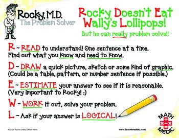 Rocky M.D. Problem Solving Posters