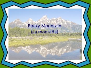 Rocky Mountain/ La montaña: A Song in Spanish and English