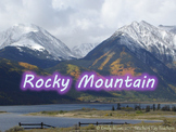 """""""Rocky Mountain"""" Orff Lesson PowerPoint"""
