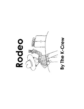 Rodeo (blackline emergent reader)