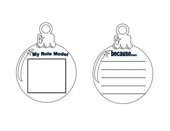 Role Model Ornament