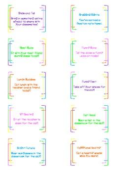 Role Model Reward Cards 2 (Freebie to go along with original set)