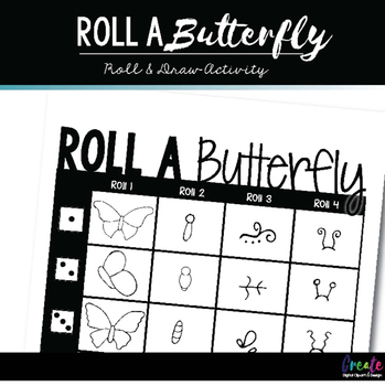 Roll A Butterfly - Dice Game