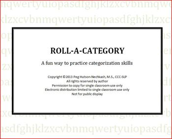 Roll-A-Category