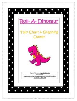 Roll A Dinosaur Tally Mark & Graphing Center