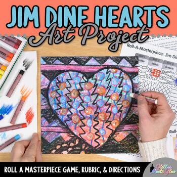 Jim Dine Art History Game - Art Sub Plans - Art Lesson