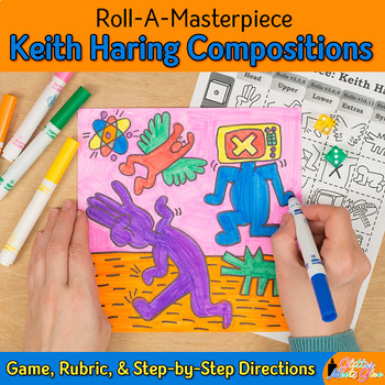 Keith Haring Art History Game - Art Sub Plans - Art Lesson