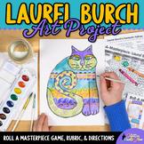 Laurel Burch Art History Game - Art Sub Plans - Art Lesson