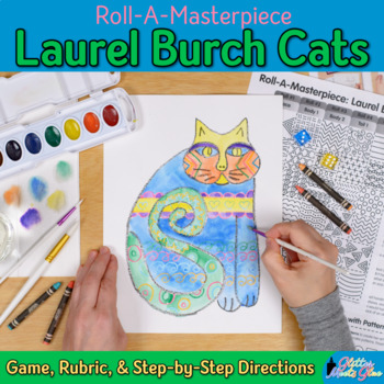 Laurel Burch Art History Game - Art Sub Plans - Art Lesson