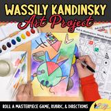 Wassily Kandinsky Art History Game - Art Sub Plans - Art Lesson