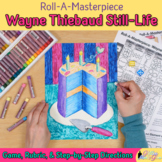 Wayne Thiebaud Art History Game - Art Sub Plans - Art Lesson