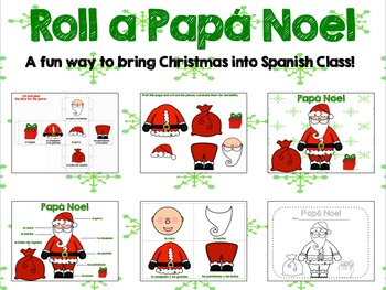 Roll A Santa Claus {Spanish}