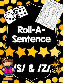 Roll-A-Sentence /s/ & /z/ - Articulation Printables for Se