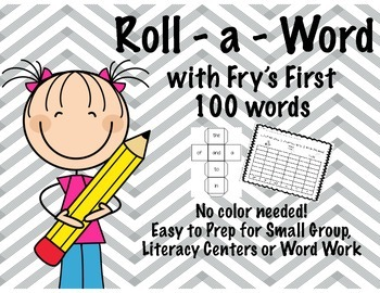 Roll-A-Word with Fry's First 100
