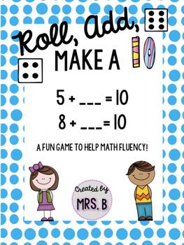 Roll, Add, Make a Ten