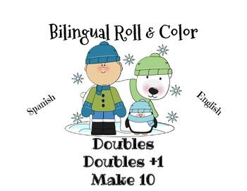 Roll & Color December/Tira y colorea de diciembre