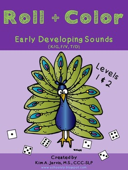 Roll & Color: Early Developing Speech Sounds