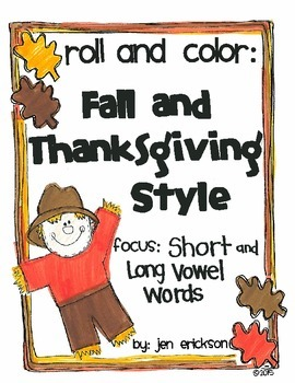 Roll & Color FALL AND THANKSGIVING STYLE:  Short and Long