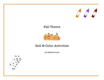 Roll & Color - Fall theme