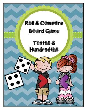 Roll & Compare: Decimals