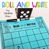 Dice - Roll, Count, and Write