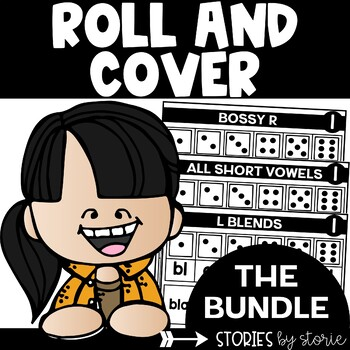 Roll & Cover Game Boards Bundle